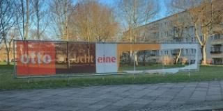 """""""Otto braucht eine Synagoge""""  - 3. Zerstörung des Banners"""